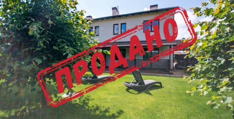 Продано будинок 127 м2 в КМ «Лебедівка»